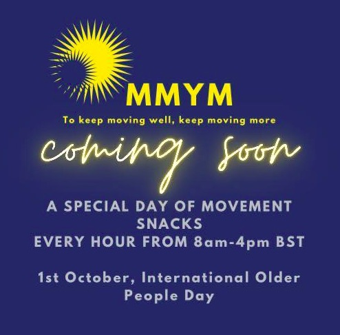 Make Movement your Mission 1st October International Day of the Older Person Image